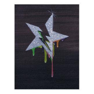 born of paint postcard