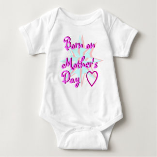 Born on Mother's Day Baby Bodysuit