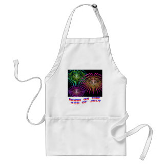 Born on the 4th of July Adult Apron