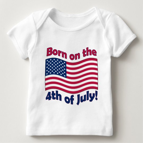 Born on the 4th of July	Infant Long Sleeve t-shirt