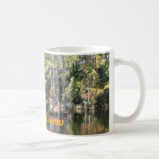 Born on the Bayou Cup Classic White Coffee Mug