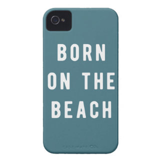 Born on the beach Case-Mate iPhone 4 case