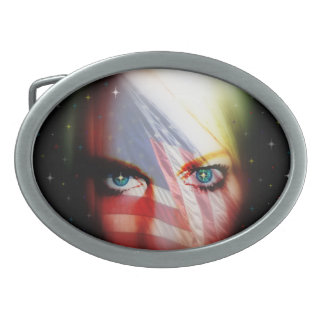 Born On The Fourth of July Belt Buckle