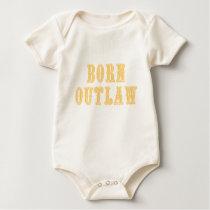 Born Outlaw Baby Bodysuit