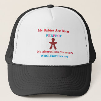 Born Perfect- Genital Autonomy For All Trucker Hat