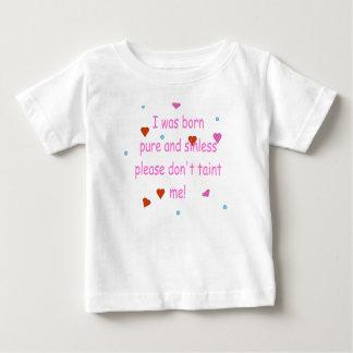 Born Pure (Girl) Baby T-Shirt