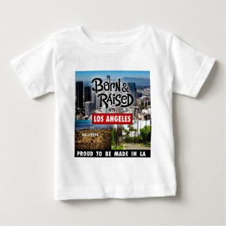 Born & Raised in Los Angeles Baby T-Shirt