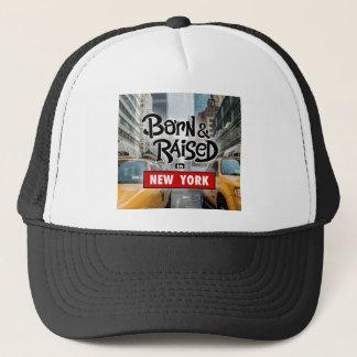 Born & Raised in NEW YORK Trucker Hat