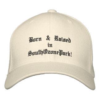 Born & Raised in SouthOzonePark! Embroidered Hats