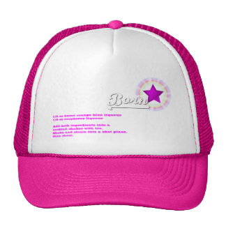 Born Star Drink Recipe Trucker Hat