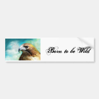 Born t be Wild Bumper Sticker