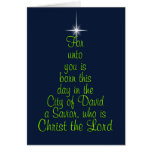 born this day greeting card