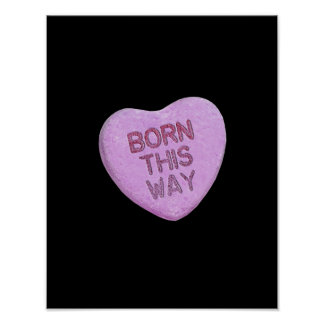 BORN THIS WAY CANDY -.png Poster