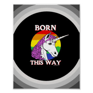 Born this way poster