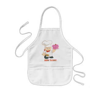 Born To Bake Kids' Apron