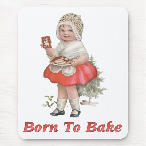 Born To Bake Mouse Pad