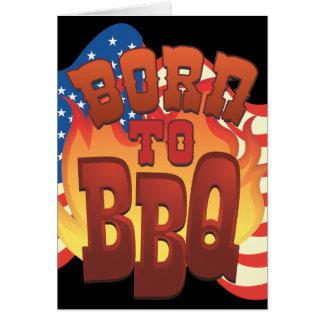Born to BBQ Card