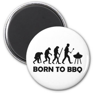 born to bbq magnet