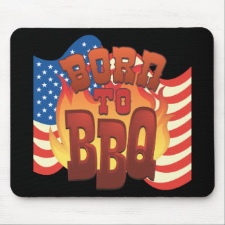 Born to BBQ Mouse Pad
