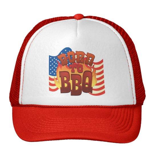 Born to BBQ Trucker Hat