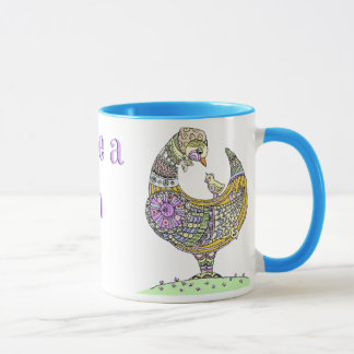 Born to be a Chicken Mama! Mug