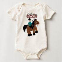 Born to be a Cowgirl Baby Bodysuit
