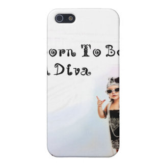 Born To Be A Diva iPhone SE/5/5s Cover