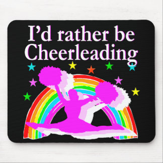 BORN TO BE A FABULOUS CHEERLEADER MOUSE PAD
