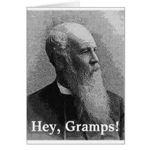 Born to Be a Grandpa! Gear Greeting Cards