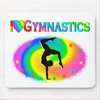 BORN TO BE A GYMNAST CHAMPION MOUSE PAD