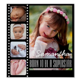 Born to Be a Superstar Photo Poster
