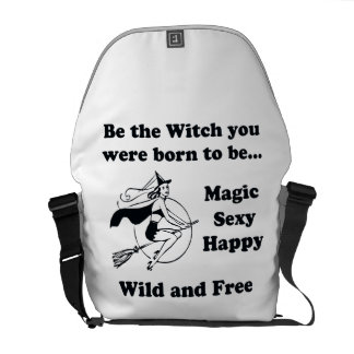 Born To Be A Witch Courier Bag