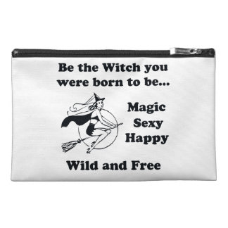 Born To Be A Witch Travel Accessory Bag