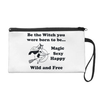 Born To Be A Witch Wristlet