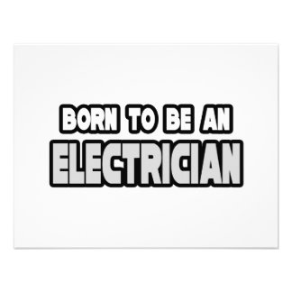 Born To Be an Electrician Announcement