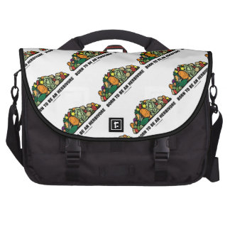 Born To Be An Herbivore (Pile Of Vegetables) Bags For Laptop