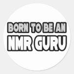 Born To Be An NMR Guru Sticker