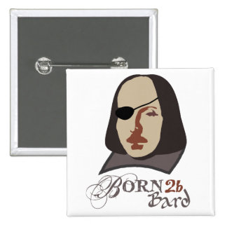 Born To Be Bard Pinback Button