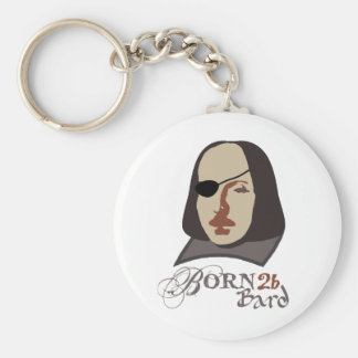 Born To Be Bard Keychain