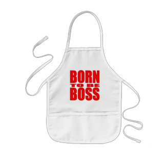 Born to be Boss Kids' Apron