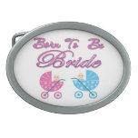 born to be bride bachelorette wedding bridal party belt buckle