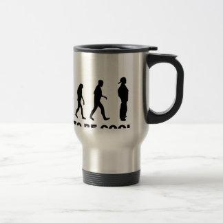 born to be cool travel mug