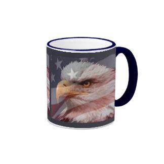 BORN to BE FREE by SHARON SHARPE Ringer Coffee Mug