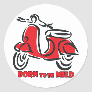 Born to be Mild Stickers