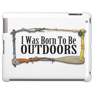 Born To Be Outdoors Tablet Case