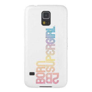 Born to Be Supergirl Galaxy S5 Case