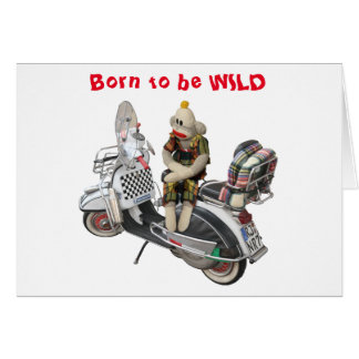 Born to be WILD Birthday Card