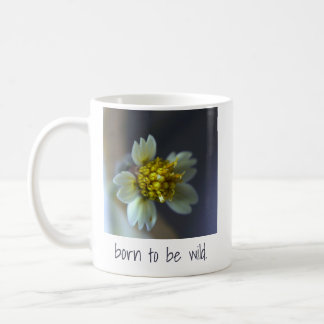 Born to be wild. Coat Buttons. Coffee Mug