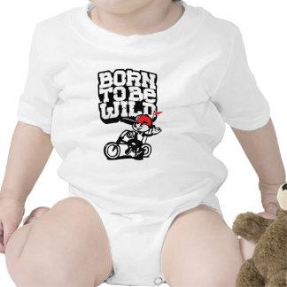 Born to be wild baby bodysuits