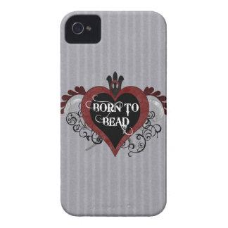 Born to Bead heart design Blackberry Bold Cover